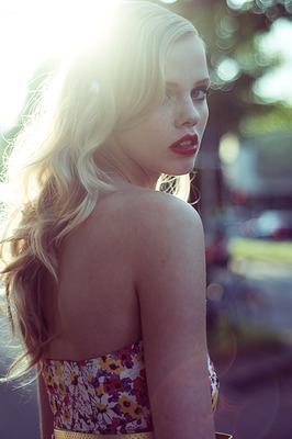 back blond